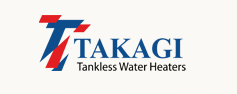 TAKAGI TANKLESS HOT WATER HEATERS